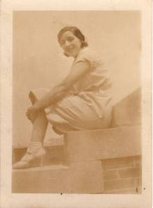 Gram when she was 16.  Gosh, she was so lovely.